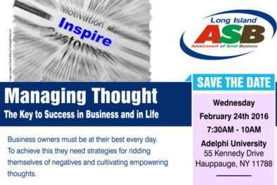 Managing Thought, the Key to Success in Business and in Life