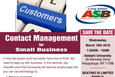 Contact Management for Small Business